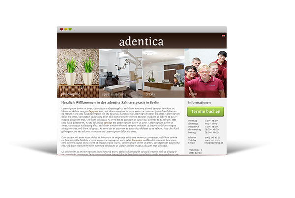 Dental service in Berlin – Adentica