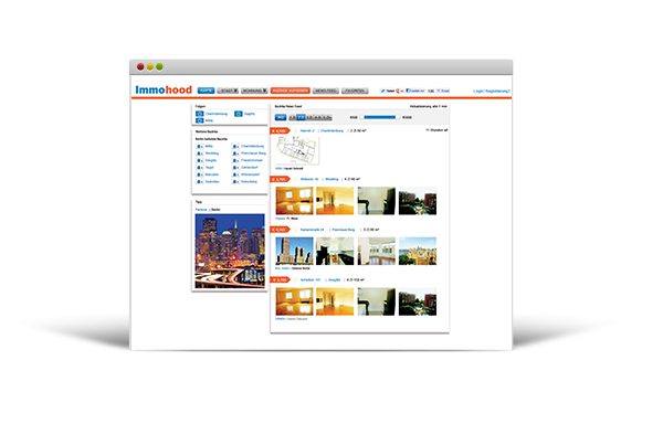 Berlin apartment rental portal