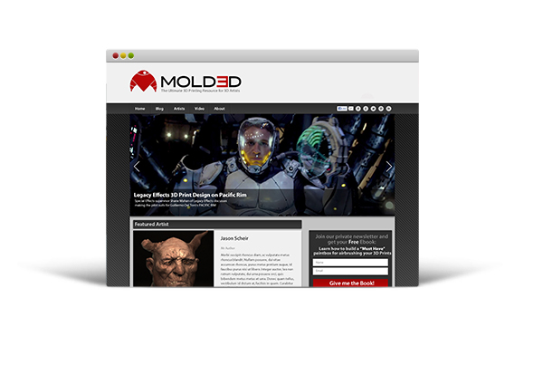 The website – Molded